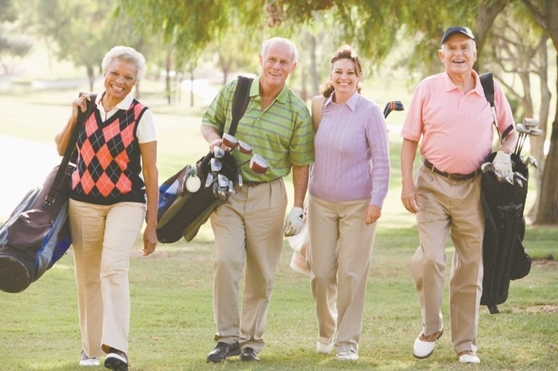 active adult community course florida golf in