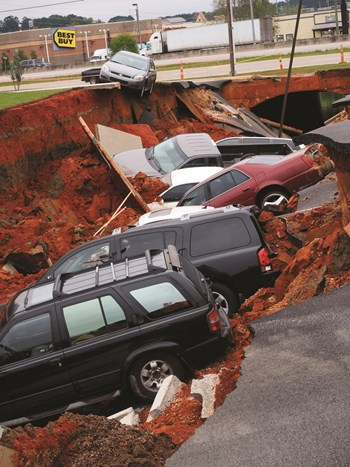 When The Ground Gives Way Sinkholes The South Florida